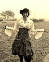 Pirate Girl in the Fog