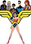 Wonder Woman TAS guest starring the DCAU Titans