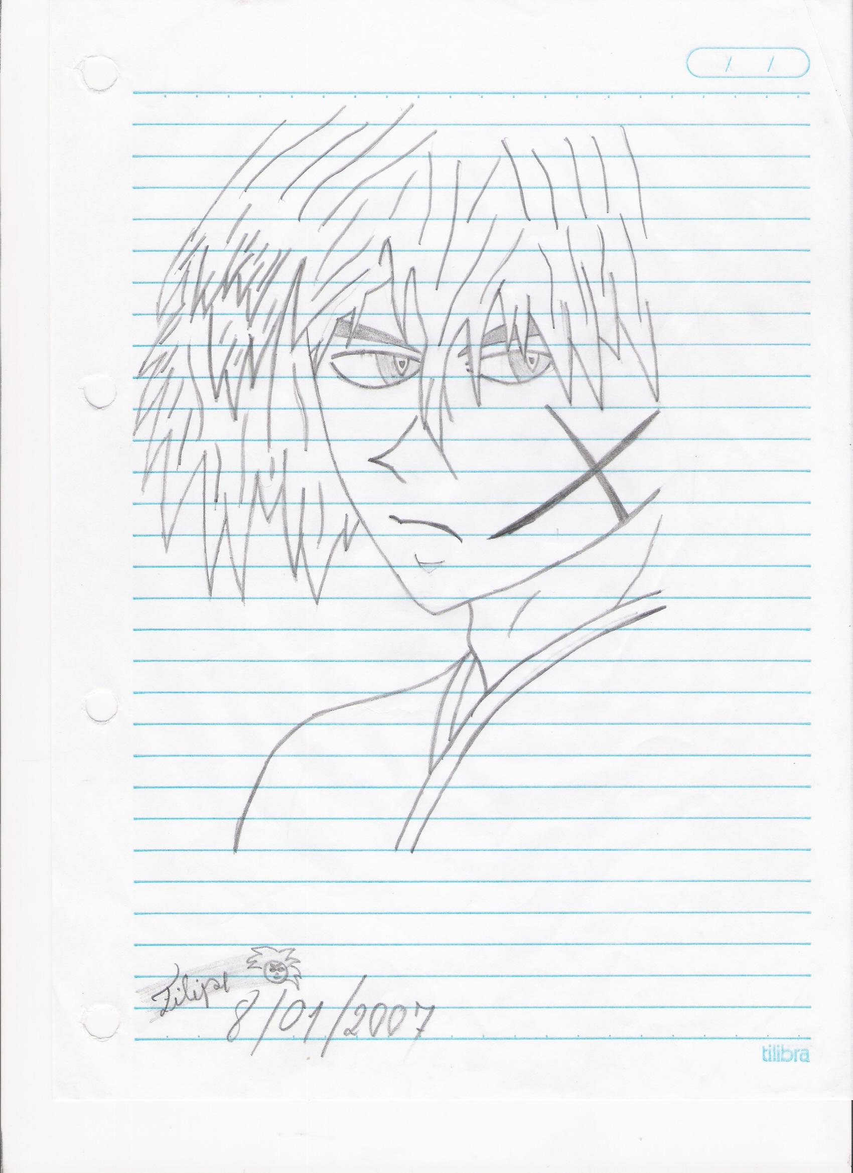 Rurouni Kenshin Drawing By Fils Fil089