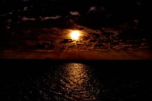 Burning Sunset by JasonGalterio