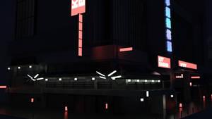 Illuminating a KitBash3D model in DAZ Studio