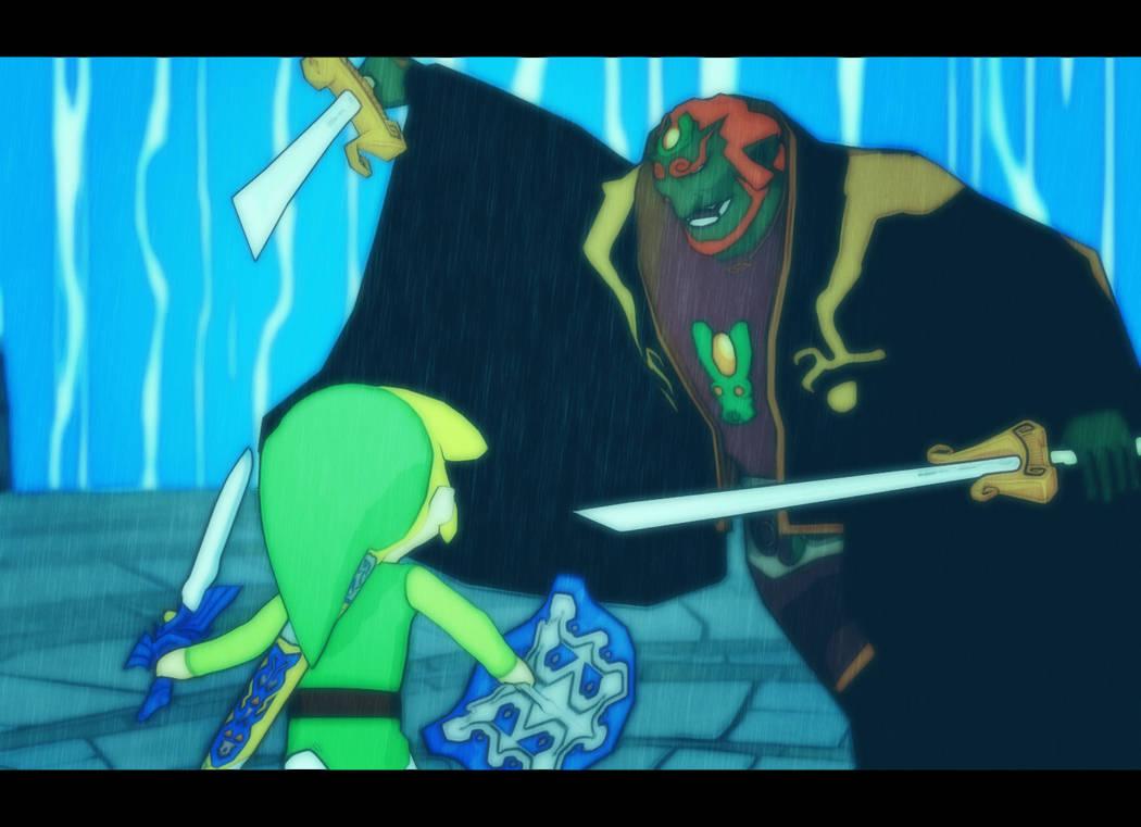 Link Vs Ganondorf Wind Waker By Ninjawsgaiden On Deviantart
