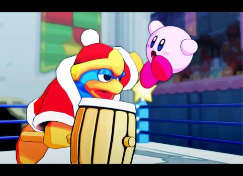 Kirby VS King Dedede