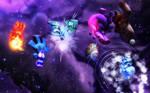 The Quantum Mask vs The Elementals