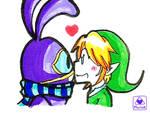 Ravio kiss by oMariLinko