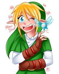 Link and Navi fun