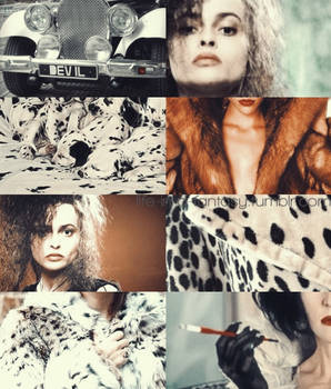 Ladies of Disney - Cruella De Vil