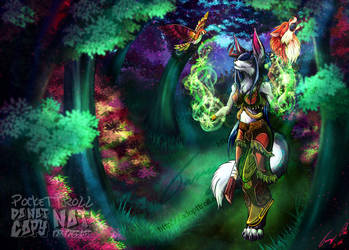 Child of Nature - Commission 2016 by PocketTroll