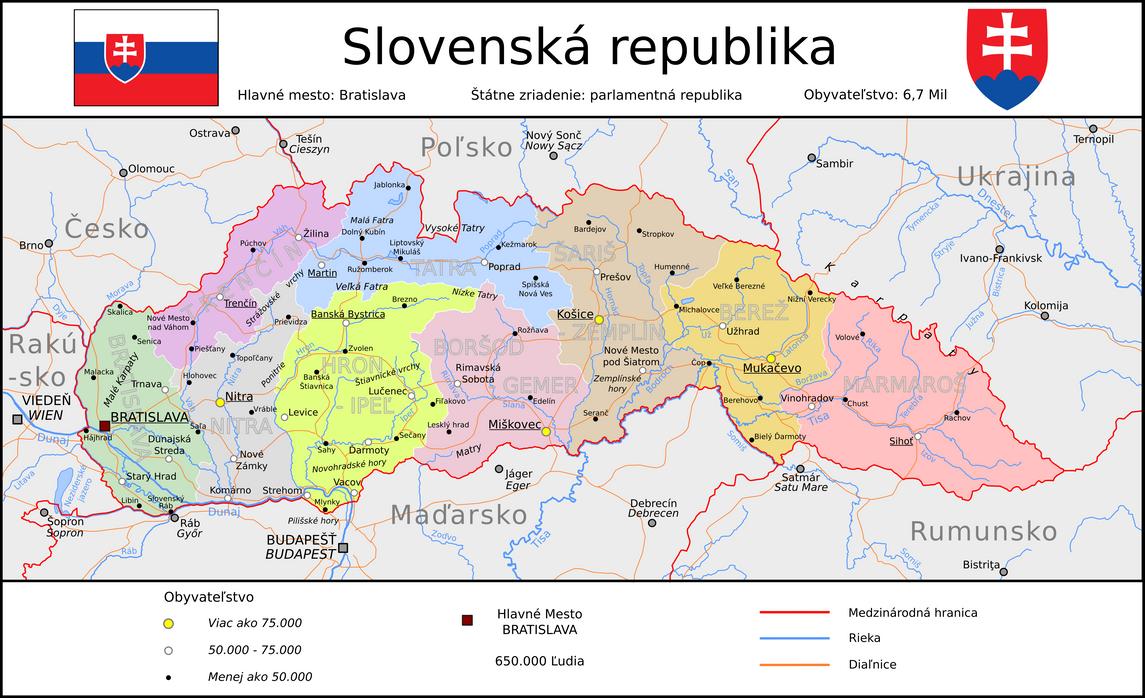 Greater Slovakia by Tullamareena on DeviantArt