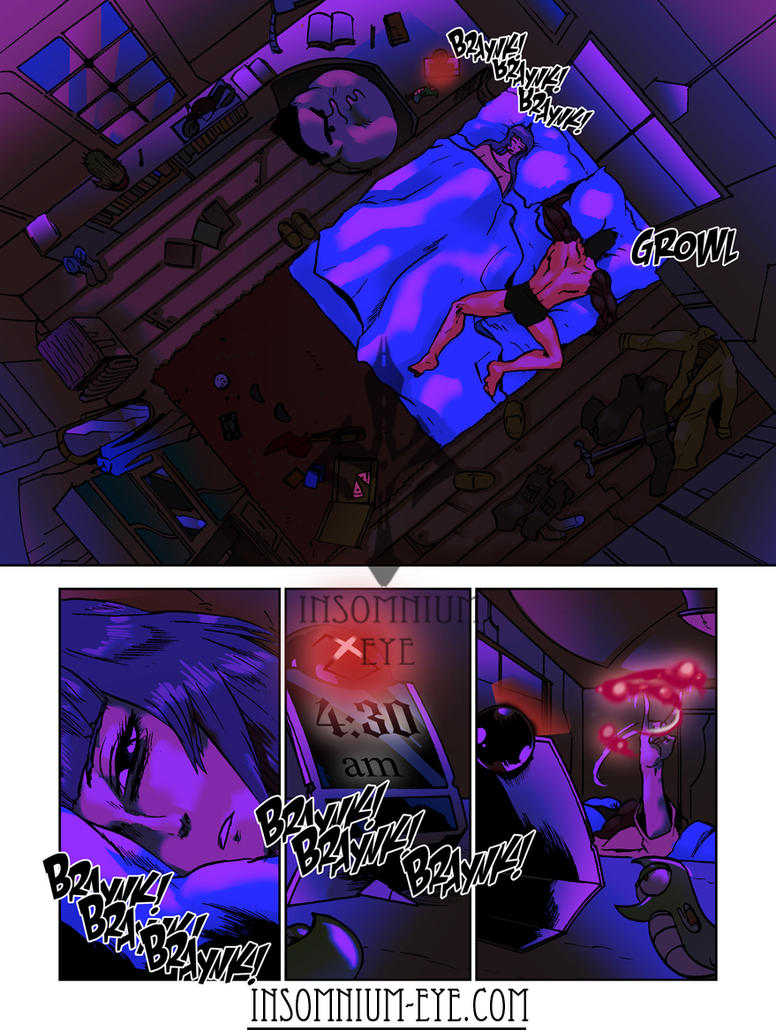 Idyll Haven - Crimson Silence - Chapter 1 - Page 7 by Hecterian