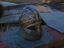 valsgard helm by BrianBrownArmoury