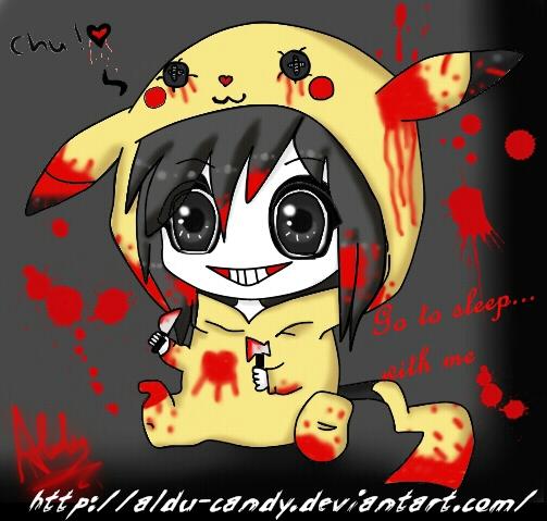 Anime Girl Killer Wallpaper: Jeff The Killer Cute By Emodog210 On DeviantArt