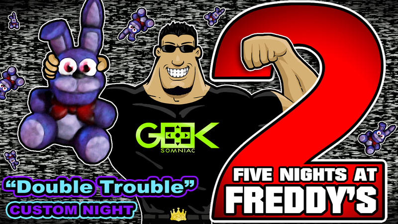 Five nights at freddy s 2 bunny troubles by geeksomniac on