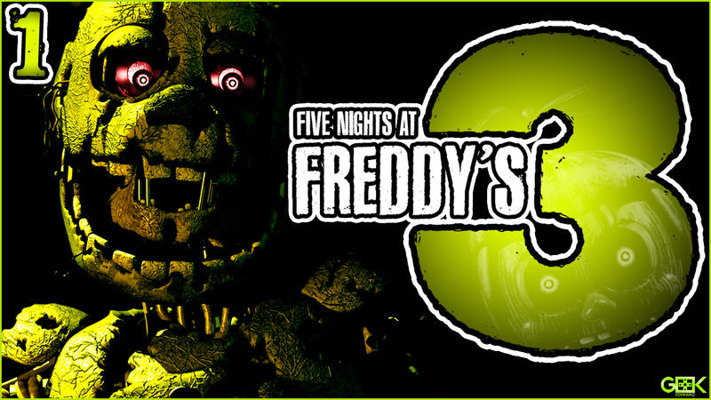 THERE IS NO ESCAPE! - Five Nights At Freddy's 3 #1 by ...