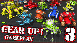 WARMONGER - GEAR UP - [Gameplay] #3