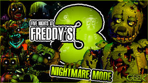 NIGHTMARE MODE COMPLETE! - Five Nights At Freddy's