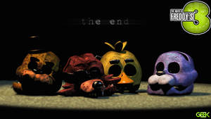 the end. - Five Nights At Freddy's 3 [Good ending]