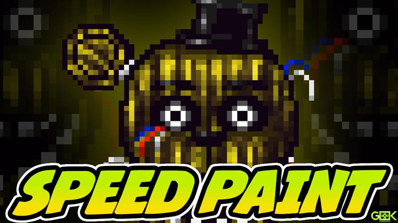 SPEEDPAINT - Phantom Freddy - FNAF 3 Icon