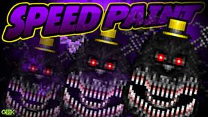 Nightmare - SPEEDPAINT - Five Nights at Freddy's