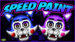 Five Nights at Candys - Candy / Cindy - SPEEDPAINT