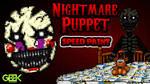 Nightmare Puppet - SPEEDPAINT - FNAF 4 DLC by GEEKsomniac