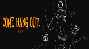 COME HANG OUT. Nightmare Mangle teaser. Brightened