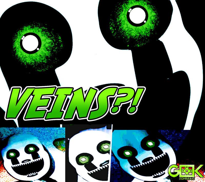 Nightmarionne has eye veins? FNAF4 Halloween DLC by GEEKsomniac on ...