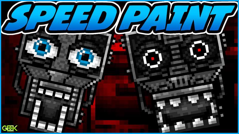 Endoskeleton - SPEEDPAINT - Five Nights at Freddys