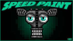 Adventure Endoskeleton - SPEEDPAINT - FNAF World