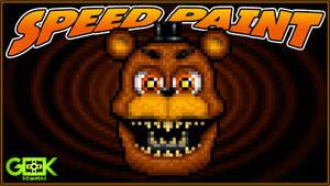 Adventure Nightmare Freddy -SPEEDPAINT- FNAF World
