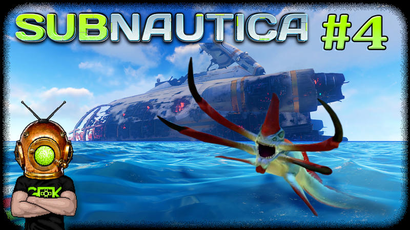 SUBNAUTICA - #4 - EXPLORING THE AURORA by GEEKsomniac on