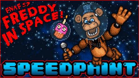 SPEEDPAINT - Freddy in Space - Pixel art Animated