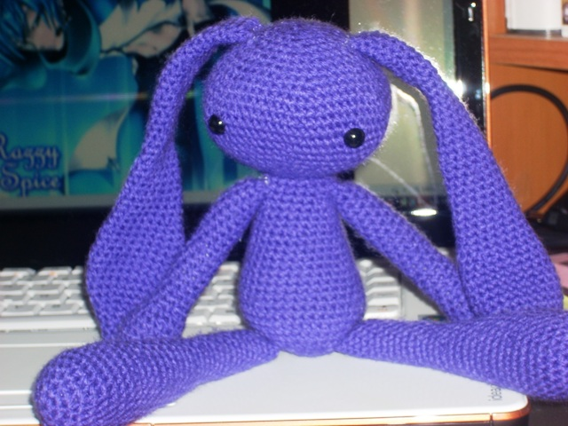Amigurumi Bunny Ears : Amigurumi cute alien rabbit crochet pattern kalulu for