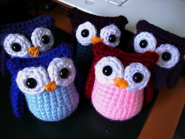 Amigurumi Owl Free Pattern : Amigurumi owls by akikazu on deviantart