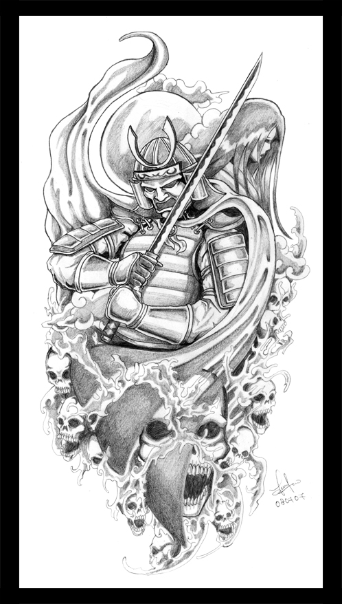 Japanese Samurai Tattoo Designs Gallery Picture 3