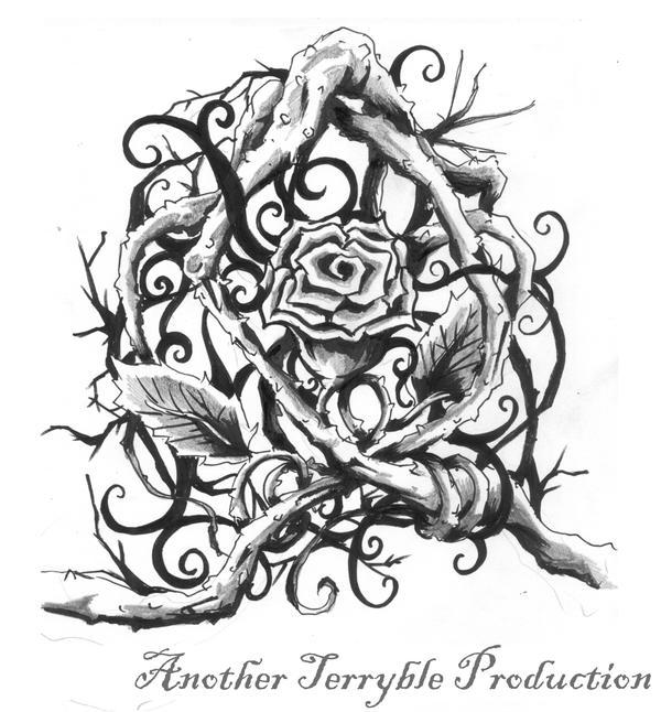 Rose tattoo design 1 by terryrism on deviantART