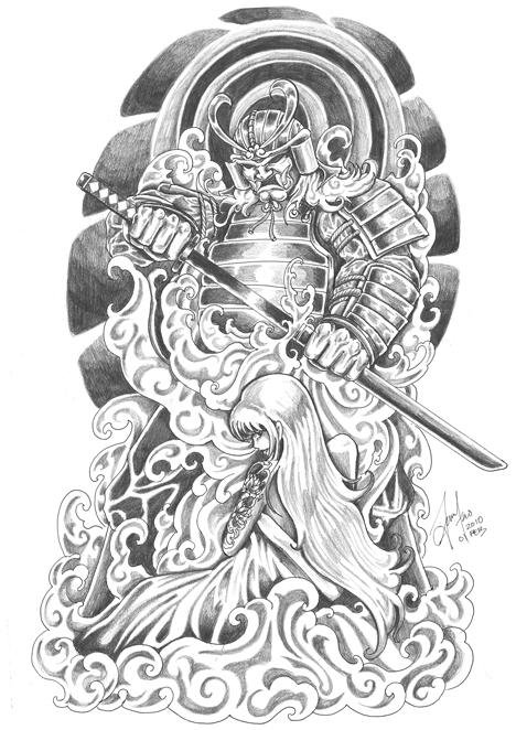 Samurai And Geisha 2 By Terryrism On DeviantArt