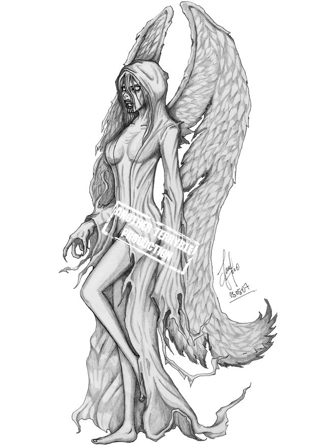 She 39 s the angel the devil by terryrism on deviantart for She devil tattoo