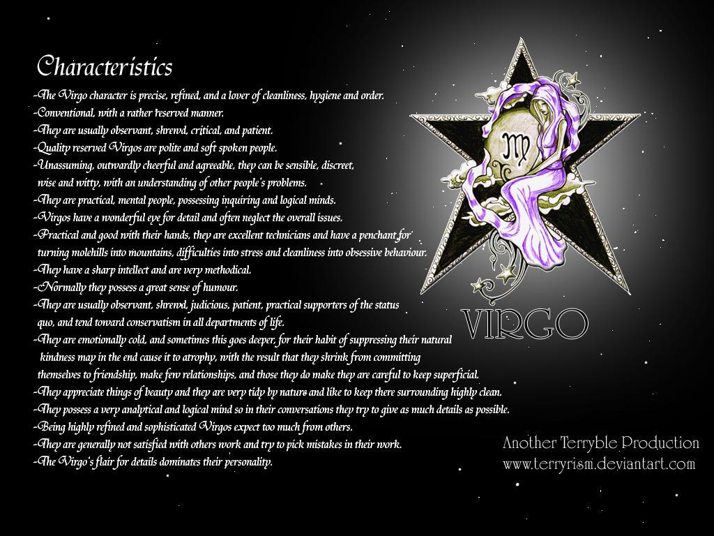 Virgo Wallpaper By Terryrism On Deviantart