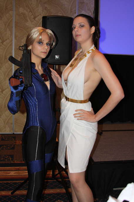 Two Ladies of Resident Evil 5 by HoodedWoman