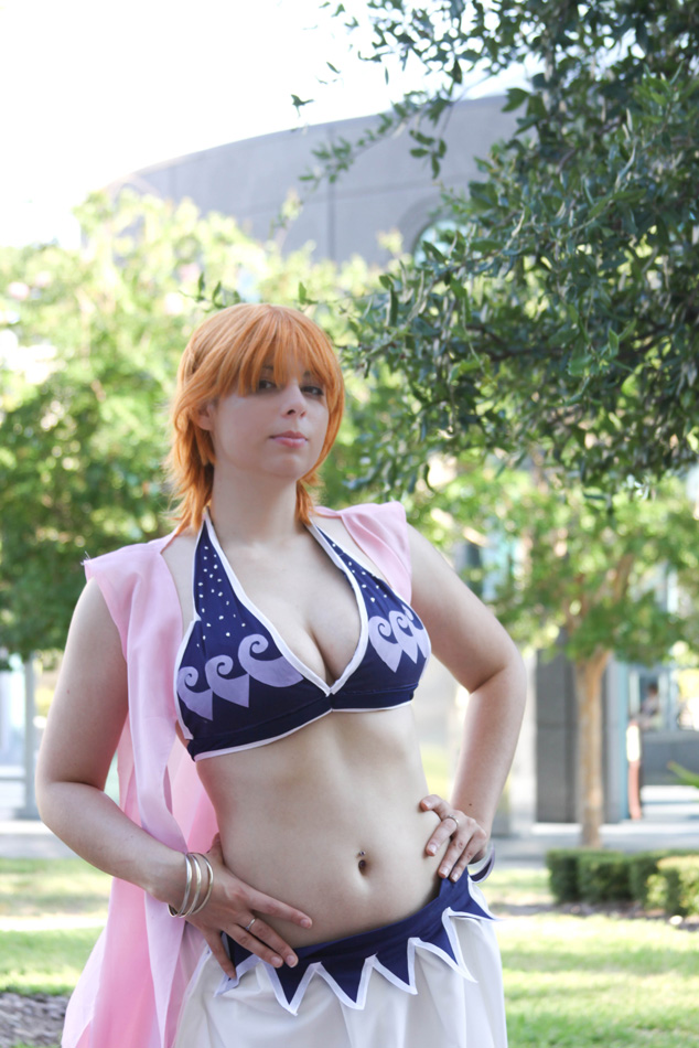 Alabasta Nami - One Piece by HoodedWoman