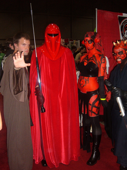 Darth Talon - Megacon by HoodedWoman