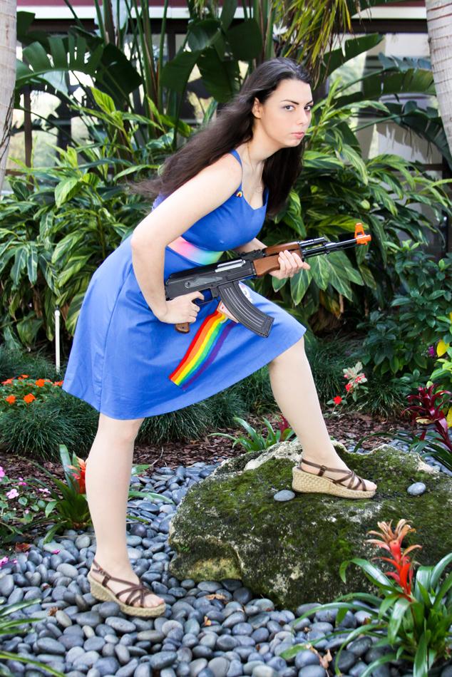 Bang bang Nyan! by HoodedWoman