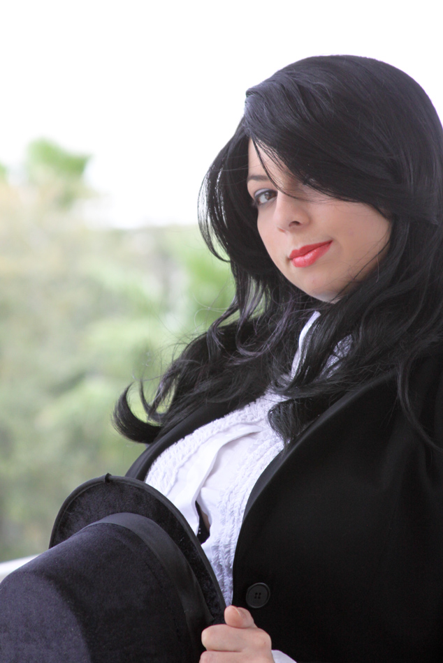 Zatanna close up by HoodedWoman