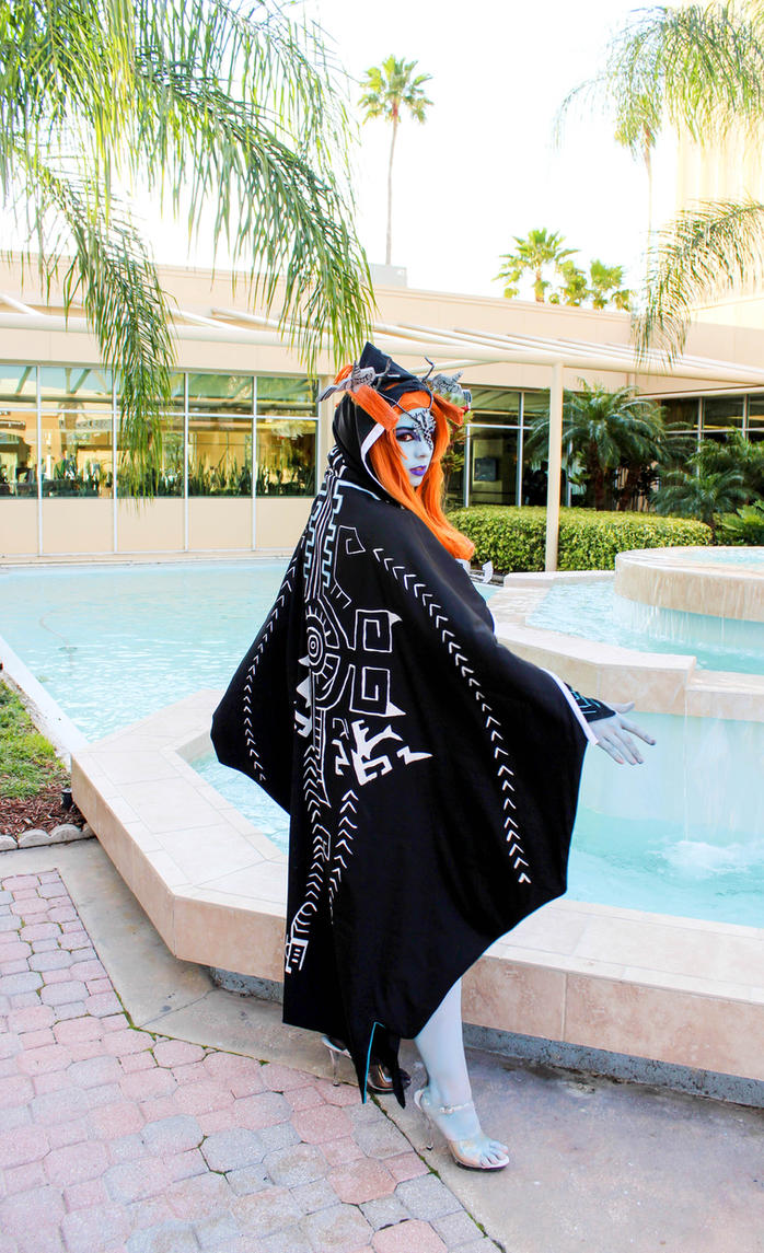 Midna - Twilight Princess Cosplay 2 by HoodedWoman