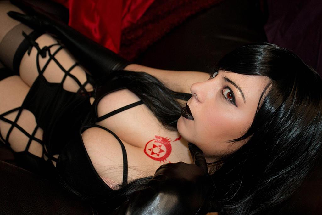 Lust - Being Lustful by HoodedWoman