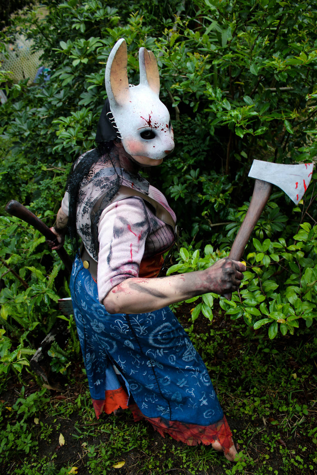 Huntress cosplay dead by daylight