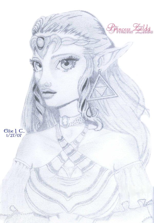 Princess Zelda by Sokai-Sama