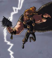 Mighty Thor by DanielMontero