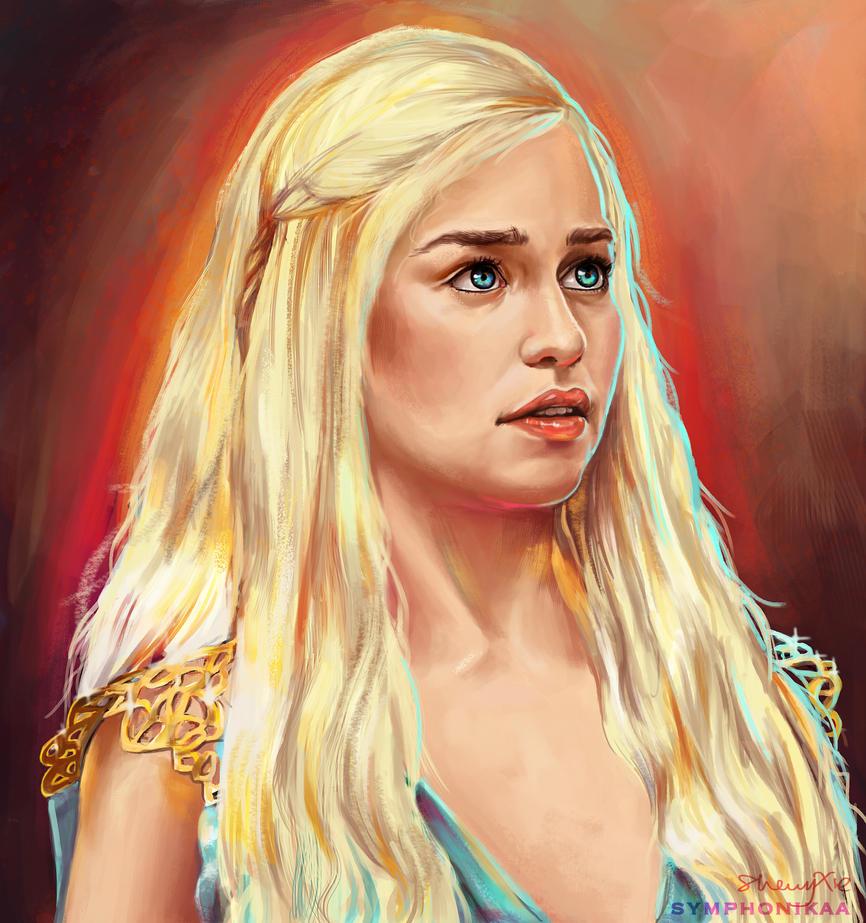 Daenerys Targaryen by symphonikas